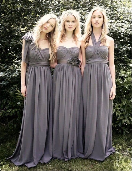 For All Of You Brides Hoping To Find The Perfect Dress Your Maids We Ve Got Covered Jenny Yoo Has Designed A Bridesmaid With Alternate