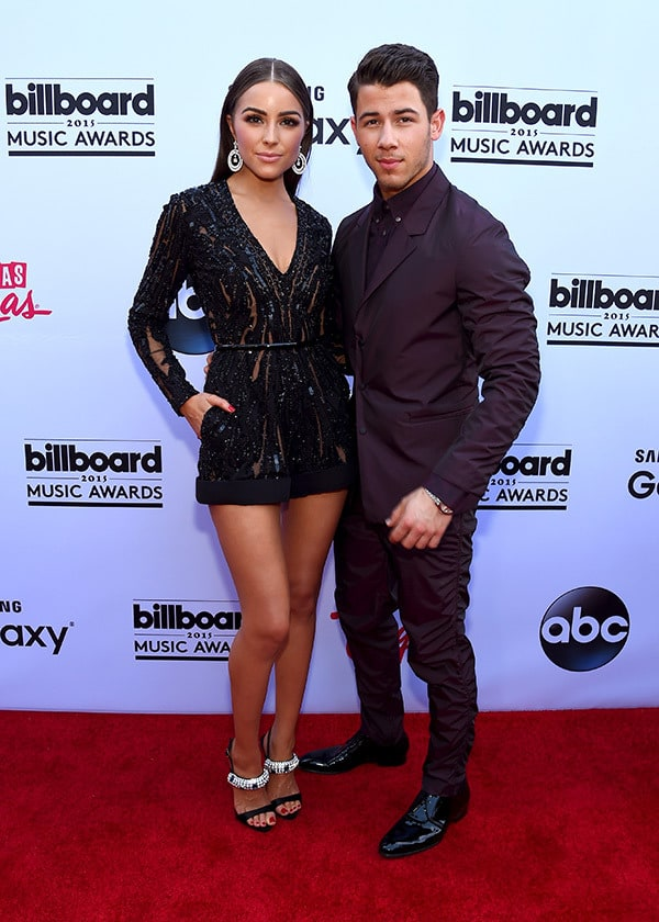 Olivia Culpo and Nick Jonas 2